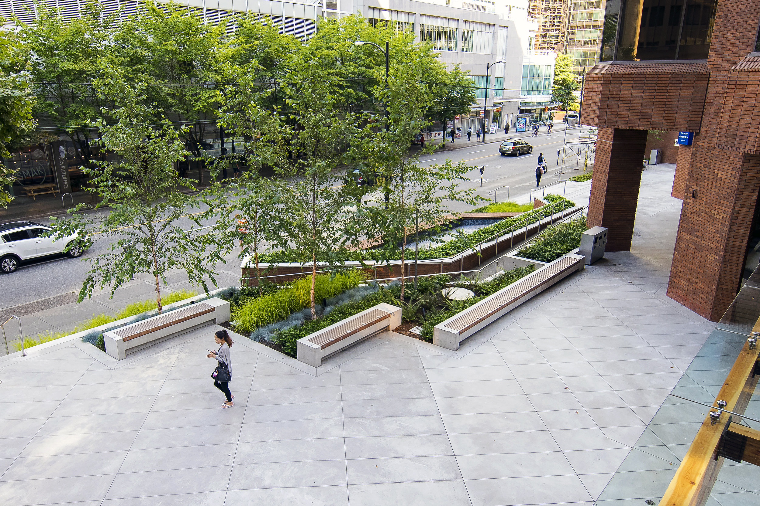 Staircase Ideas Pender Plaza Connect Landscape Architecture