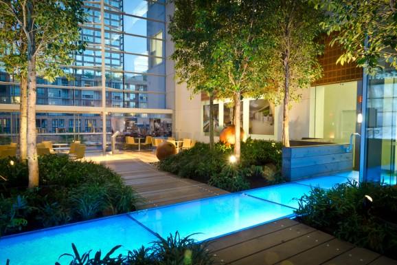 Telus Atrium Garden