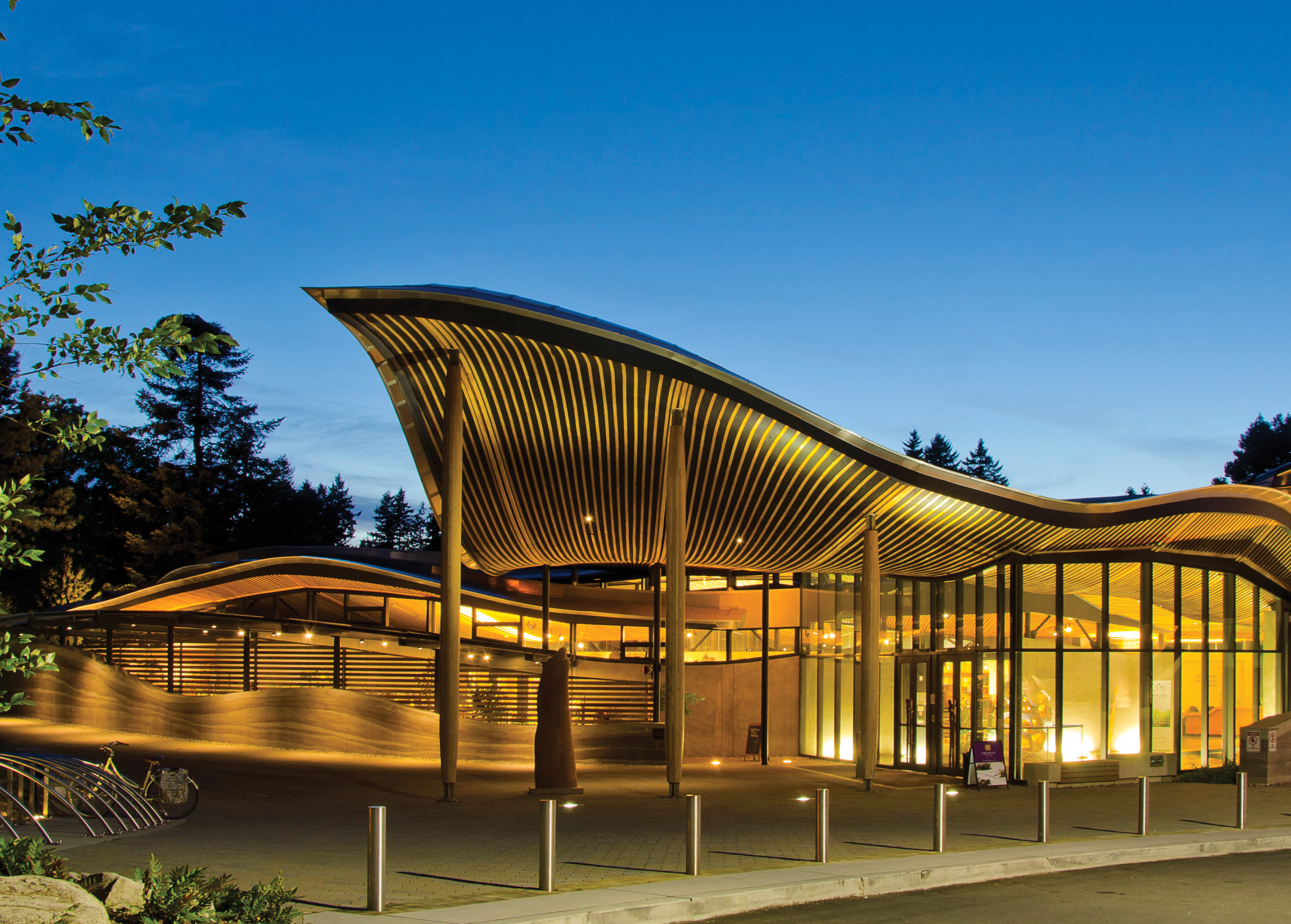 2017 GRHC Award_VanDusen. VanDusen Botanical Garden Visitor Center